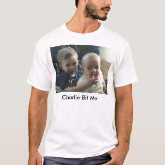 Charlie bit me - before bite - basic T-Shirt