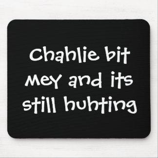 Charlie bit me Youtube mousepad