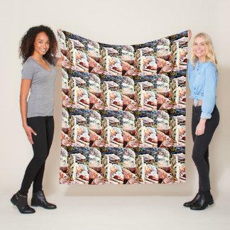 """""""Charlie' Ground Squirrel Fleece Blanket"""