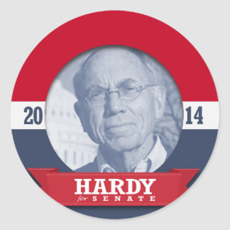 CHARLIE HARDY CAMPAIGN STICKER