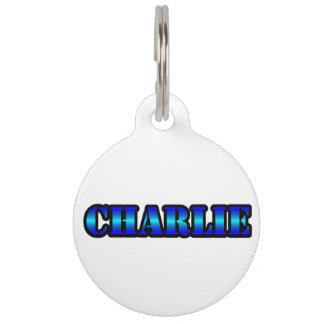 CHARLIE Pet Tag