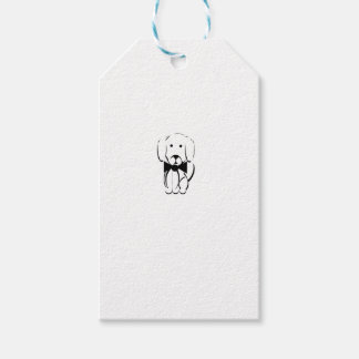 Charlie the dachshund gift tags