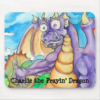 Charlie the Prayin' Dragon Mouse Pad (Charlie)