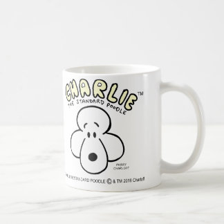 Charlie the Standard Poodle Mug
