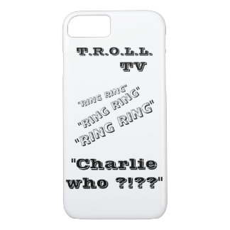 Charlie who?? iphone case