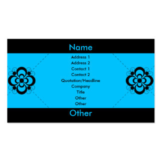 Charlize - Blue Pack Of Standard Business Cards