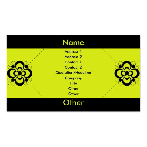Charlize - Jalapeno Business Card Templates