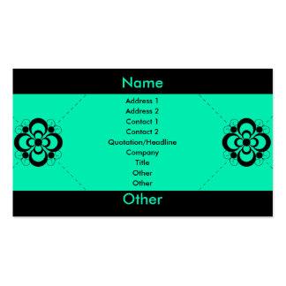 Charlize - Sea Foam Business Card