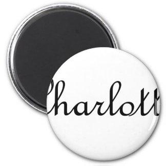 Charlotte 6 Cm Round Magnet