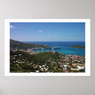 Charlotte Amalie Harbor Poster