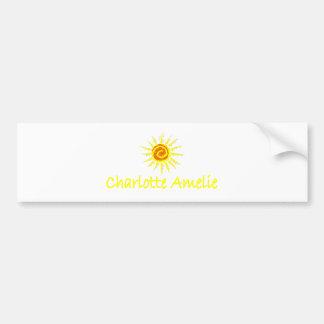 Charlotte Amelie, U.S.V.I. Bumper Stickers