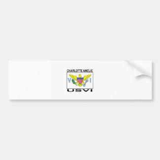 Charlotte Amelie U S V I Bumper Stickers