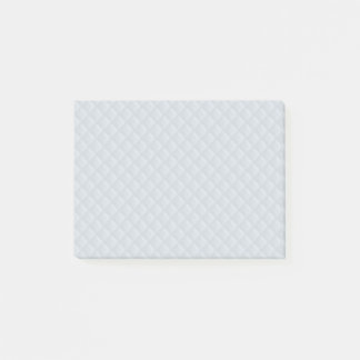 Charlotte Blue-Baby Princess Blue-Square Quilted Post-it Notes