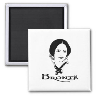 Charlotte Bronte Fridge Magnets
