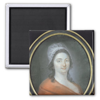 Charlotte Corday  1793 Square Magnet