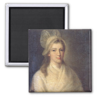 Charlotte Corday Square Magnet