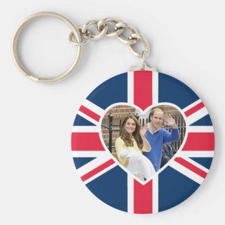 Charlotte Elizabeth Diana - British Will Kate Key Ring