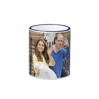 Charlotte Elizabeth Diana - British Will Kate Ringer Coffee Mug