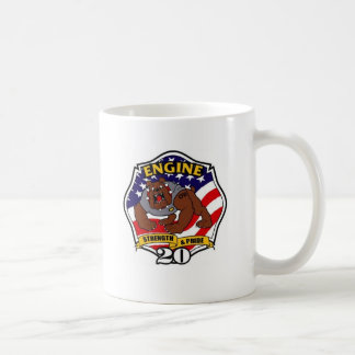 Charlotte Fire Department Station No. 20 Coffee Mugs