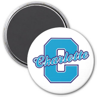 Charlotte Letter Magnet