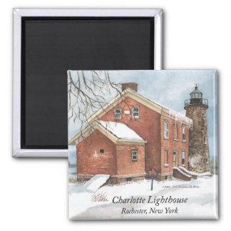 Charlotte Lighthouse Magnet
