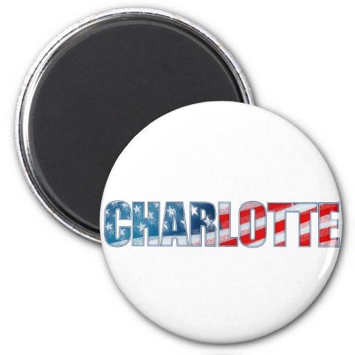 Charlotte Fridge Magnets