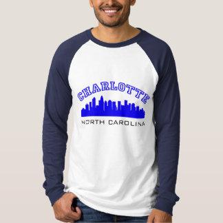 Charlotte NC Outline T-Shirt