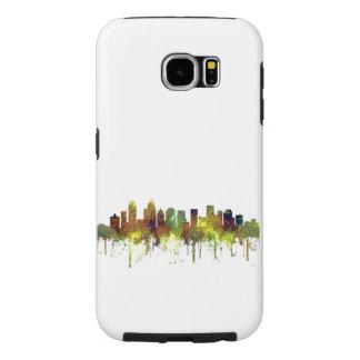 Charlotte NC Skyline SG Safari Buff Samsung Galaxy S6 Cases