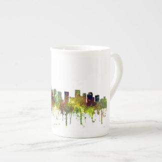Charlotte NC Skyline SG Safari Buff Tea Cup