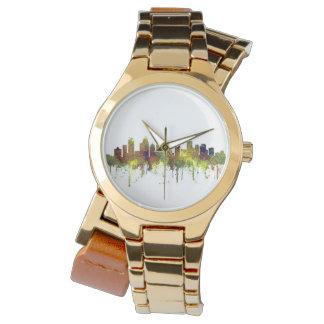 Charlotte NC Skyline SG Safari Buff Watch