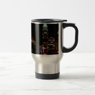 Charlotte NC Skyline Travel Mug