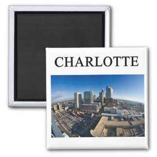 CHARLOTTE north carolaina Fridge Magnets