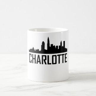 Charlotte North Carolina City Skyline Coffee Mug