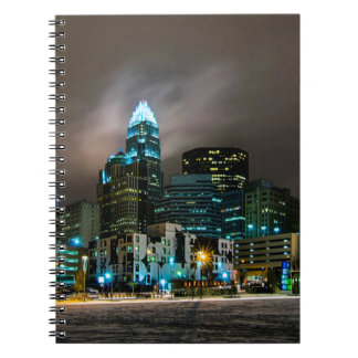 Charlotte, North Carolina skyline Notebook