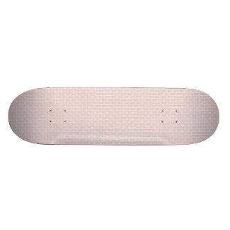 Charlotte Pink-Baby Princess Pink-Burlap Pillow 21.6 Cm Skateboard Deck