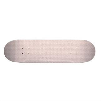 Charlotte Pink-Baby Princess Pink-Burlap Pillow Skate Board Deck