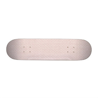 Charlotte Pink-Baby Princess Pink-Burlap Pillow Skate Board Decks