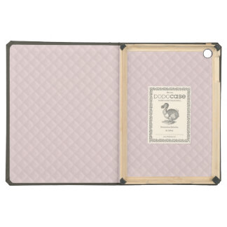 Charlotte Pink-Baby Princess Pink-Square Quilted iPad Air Cover