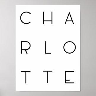 Charlotte Poster