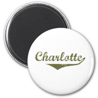 Charlotte Revolution t shirts Magnets