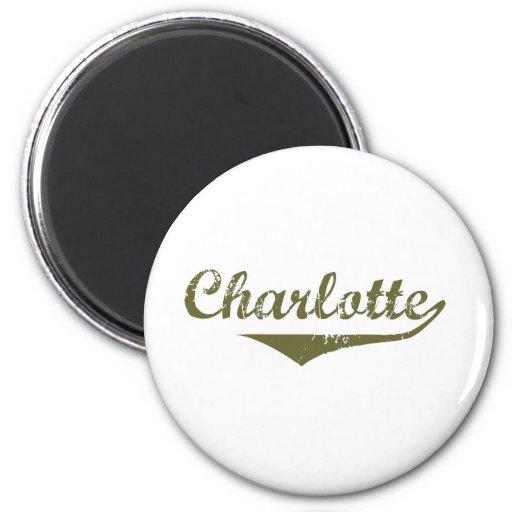 Charlotte Revolution t shirts Magnets