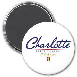 Charlotte Script Magnet