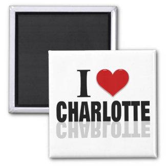 Charlotte Square Magnet
