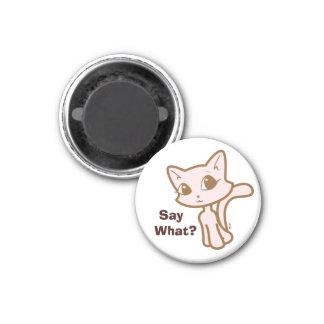 Charlotte The Kitten 3 Cm Round Magnet