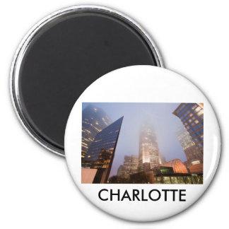 CHARLOTTE UPTOWN 6 CM ROUND MAGNET