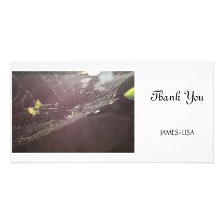 charlotte's web custom photo card