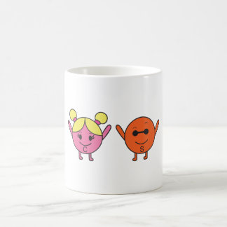 Charm and Strange Quarks Coffee Mug