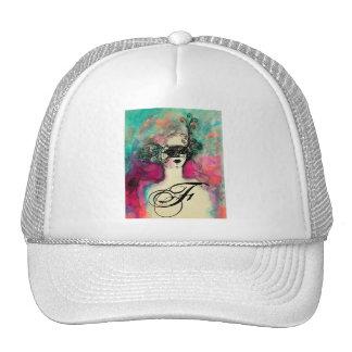 CHARM MONOGRAM HAT