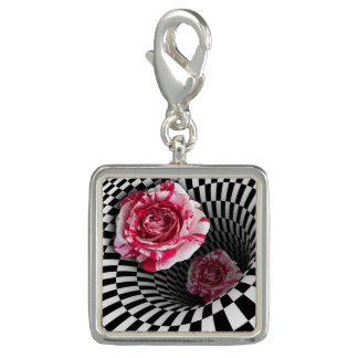 Charm two peppermint roses in tunnel design