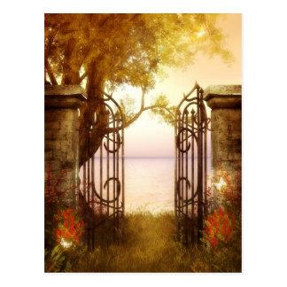 Charmed Woodlands 11 Postcard